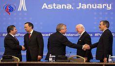 أعلنت كازاخستان أن الجولة الثالثة من محادثات السلام في سوريا التي تعقد في أستانا برعاية روسيا وتركيا وإيران ستتناول الوضعيّة القانونية الخاصة بالمناطق التي نُفّذت فيها المصالحات.
