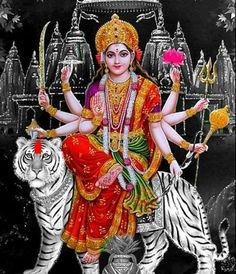 Durga Sapta Sloki is a part of the famous Devi Mahatyam found in the Markandeya Purana. The Durga Sapta Sloki (Seven verses to Durga) was taught by the. Goddess Art, Durga Goddess, Maa Durga Hd Wallpaper, Maa Durga Image, Durga Ji, Durga Images, Special Wallpaper, Vaishno Devi, Mother Goddess
