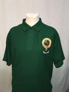 Green cotton polo sh