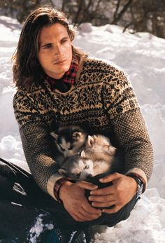 Philippe, PRL Nordic Sweater & Pups, 1998