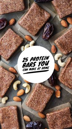 25 Protein Bars You Can Make At Home Protein bars can get expensive. Save your money by making your protein bars at home! Article Image From: FitMittenKitchen Chocolate Chip Cookie Dou… Low Carb Protein Bars, Healthy Protein Snacks, Protein Bar Recipes, Best Protein, Protein Foods, Muscle Protein, Protein Bites, Protein Cookies, Protein Shakes