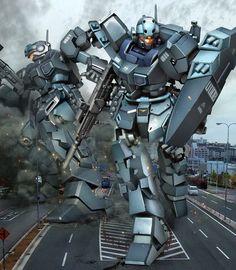 Gundam Arte digital funciona Parte 1 - Gundam Kits Colección Noticias y Comentarios