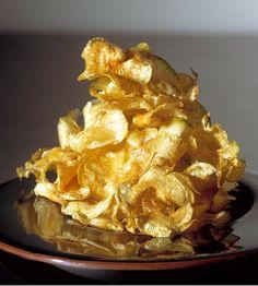 229 | chips de alcachofa (El Bulli, 1994, snacks)