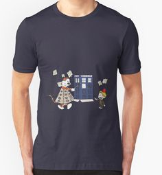 Doctor and Daleks by ChiChiDesigns