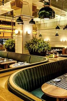 Upland The 10 Most Beautiful Restaurants in New York City via @PureWow