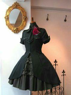 Kawaii Fashion, Lolita Fashion, Gothic Fashion, Mode Outfits, Korean Outfits, Pretty Dresses, Beautiful Dresses, Moda Steampunk, Looks Dark