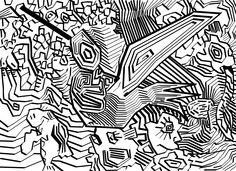 #colibri #besaflor #digital #abstracto #gimp