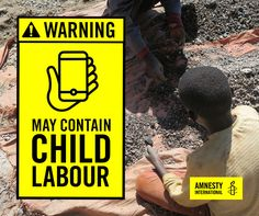 Does your @Samsung phone contain cobalt mined by children in the #DRC? Take Action > http://amn.st/6496Bd5qp