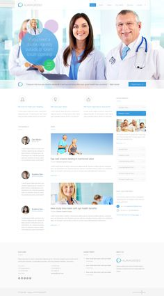 45 Professional Medical Website Designs & Templates You Can Learn From