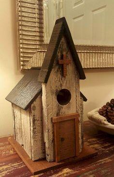 Most Popular Birdhouses Rustic in Your Garden 27
