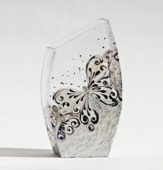 Center Piece Vase Candle Holder Hand Painted by NevenaArtGlass, $69.80  http://www.etsy.com/treasury/MTQyOTc1ODF8MjY0NjYxNzI5Nw/the-artistic-soul
