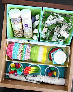 IHeart Organizing - Baking Drawer