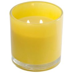 Tuscany Fresh Citrus Jar Candle ($13) ❤ liked on Polyvore featuring home, home decor, candles & candleholders, round candles, scented candles, fragrance candles, citrus candle and wick candles