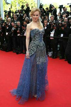 Nicole Kidman in Giorgio Armani / Cannes 2014