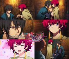 Akatsuki no Yona #anime Yona x Hak