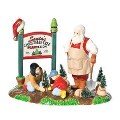 DEPT 56  SANTA COMES TO TOWN 2010  808877 CHRISTMAS TREE NEW * FREE SHIPPING