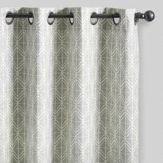 Tribal Geo Cotton Naomi Curtains Set of 2 | World Market