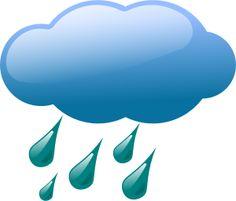 free weather rain cloud weather symbol free clip art kid rh pinterest com free rainforest clipart rain gauge clipart free