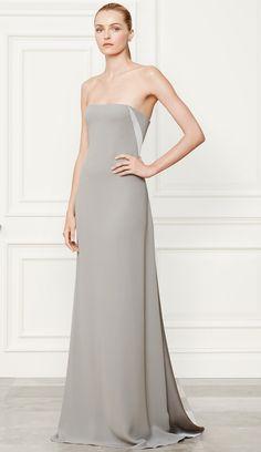 Ralph Lauren Fall 2014 Collection Silk Naomi Gown