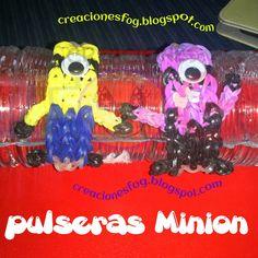 Pulseras de gomitas Minion