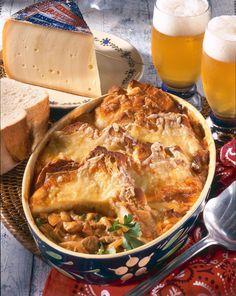 Unser beliebtes Rezept für Schweizer Käse-Brot-Auflauf und mehr als 55.000 weitere kostenlose Rezepte auf LECKER.de.