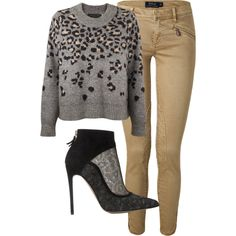 A fashion look from December 2014 featuring rag & bone sweaters, Polo Ralph Lauren jeans and Bionda Castana ankle booties. Browse and shop related looks.