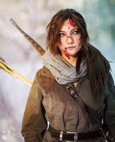 Lara Croft (Tomb Raider); by Santatory