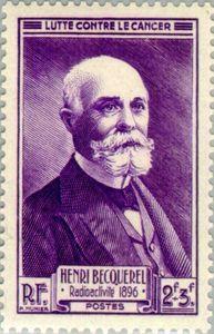 Henri Becquerel. 1896 radioactivity