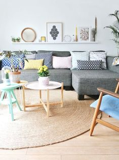 Scandinavian Style Living Room | The Best Wood Furniture