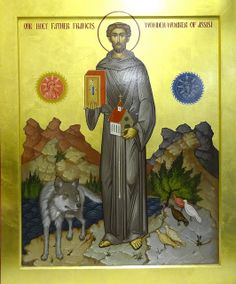 St Francis of Assisi icon | Flickr - Photo Sharing!