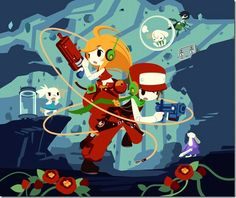 Cave story Curly & Quote