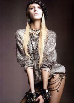 Anja Rubik  #fashion #photographyby Greg Kadel