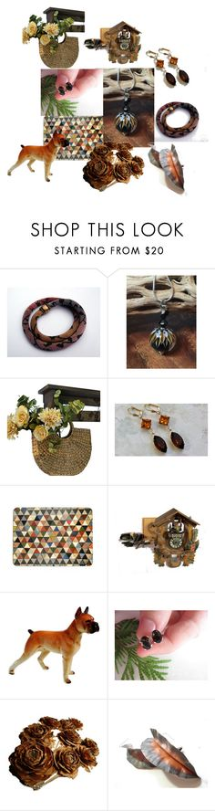 Good Things by inspiredbyten on Polyvore featuring WALL and vintage