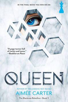 #CoverReveal Queen (The Blackcoat Rebellion, #3) - Aimee Carter