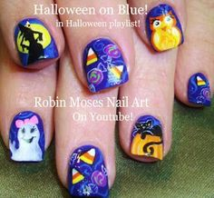 Halloween Nail Art! Spooky Nails! Owls Black Cat Nail Design Tutorial |                49 videos         Play all       Play now                          69 videos         Play all       Play now