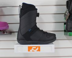 Boots 36292: New 2017 Ride Anthem Boa Snowboard Boots Mens 10 Black -> BUY IT NOW ONLY: $167.96 on eBay!