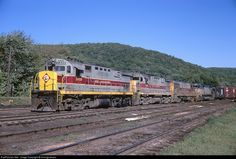 RailPictures.Net Photo: EL 2409 Erie Lackawanna Alco C424 at Port Jervis, New York by miningcamper