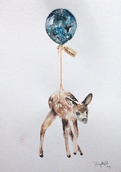 ♡ Fawn and Balloon