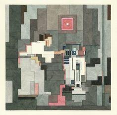 Watercolor Pixel Art Portraits Remix Pop Culture & Classic Paintings | The Creators Project