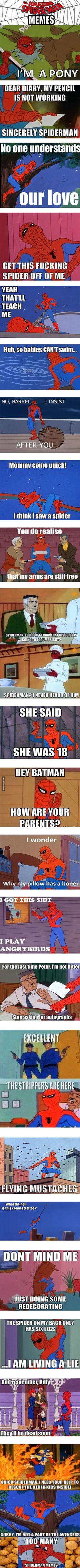 I love 60s Spider-Man MEMES - 9GAG