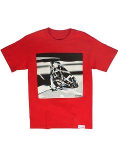 Diamond Supply Co. Brilliant Glass T-Shirt - Red $33.00