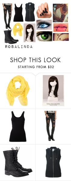 """""""Durarara (Oc)"""" by ironically-a-strider21 ❤ liked on Polyvore featuring M Missoni, WigYouUp, Theory, Jeffrey Campbell and Zoe Karssen"""