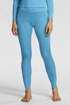 Women's Long Underwear from Lands' End - silk long johns | Long ...