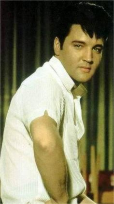 Elvis rehearsing the sequence of the song ( Who are you ) during the filming of his movie Speddway summer 1967.