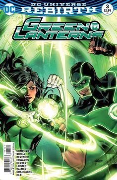 Green Lanterns #3 Variant (2016)