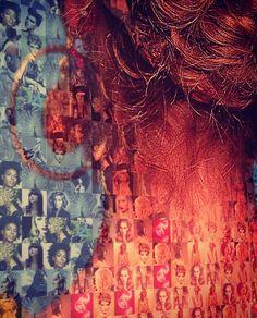 Photos in photos - hair as art!