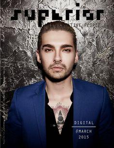 Bill Kaulitz para Superior Digital Magazine