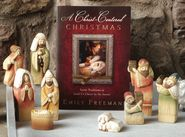 A friend of mine shared a family tradition they have that is meaningful. They choose one family in their neighborhood and give them the gift of a nativity set. Only they divide up the individual pieces and leave one piece every night on their neighbor's doorstep anonymously. Here's my favorite nativity from Deseret Book because it comes with the book written by my friend, Emily Freeman, that highlights each person in the nativity.