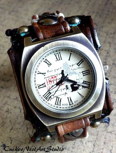10 Best Vintage images in 2017   Fossil Watches, Leather