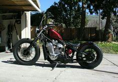 Honda Shadow VLX 600 Bobber, Peanut Tank